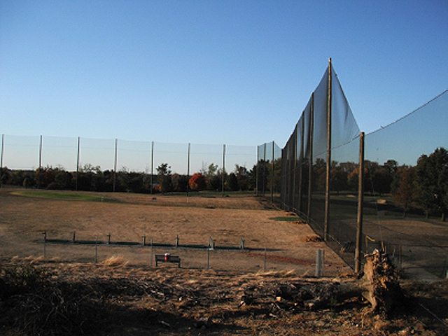 Golf Barrier Netting