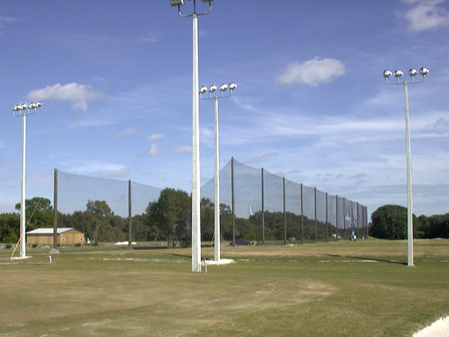 Tampa Bay Downs Driving Range Barrier Netting