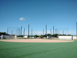 Sports Netting System Installation