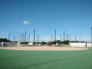 Sports Netting System Installation