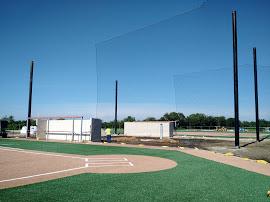 Practically Invisible Baseball Netting