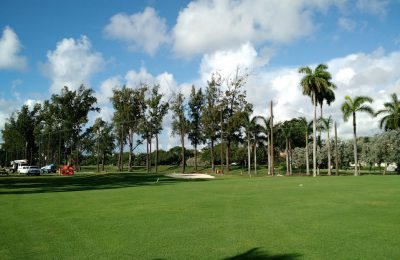 Golf Course Netting Install, Miami Beach