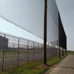 Correctional Facility Barrier Netting