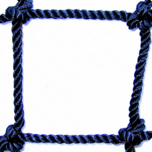 #72 1-3/4 Bonded Knotted Nylon Netting Square Mesh