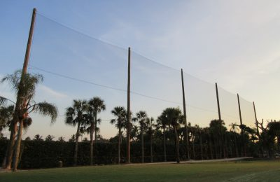 Protective Sports Barrier Netting