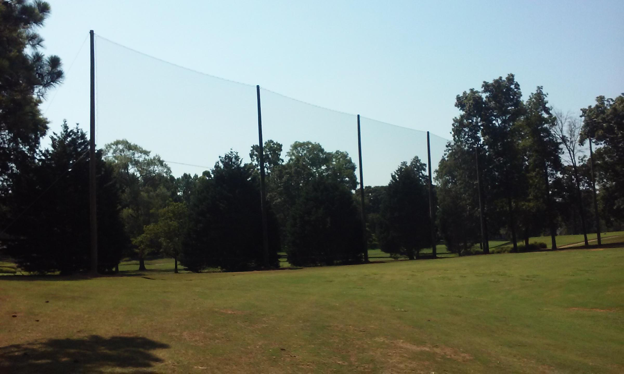 450' x 50' Driving Range Netting