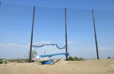 Golf Netting Panel Installation for Driving Range Netting