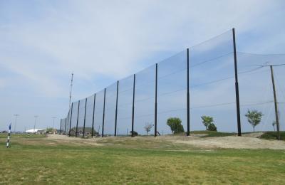 Driving Range Netting Installation Granite Links Golf Club