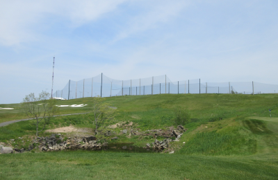 Golf Course & Driving Range completed installation