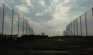 Golf Range Netting Replacement Installation