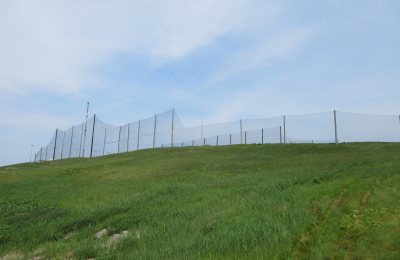 Golf Course and Driving Range netting installation