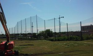 Driving Range Netting Installation Lambert's Point