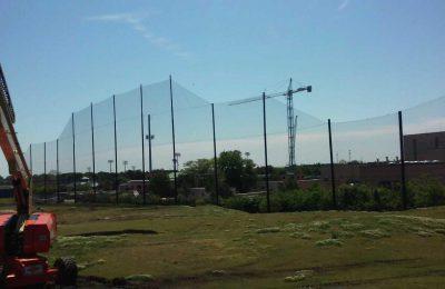 Driving Range Netting Installation Lambert's Point