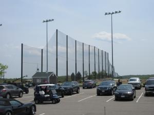 Granite Links driving range installation