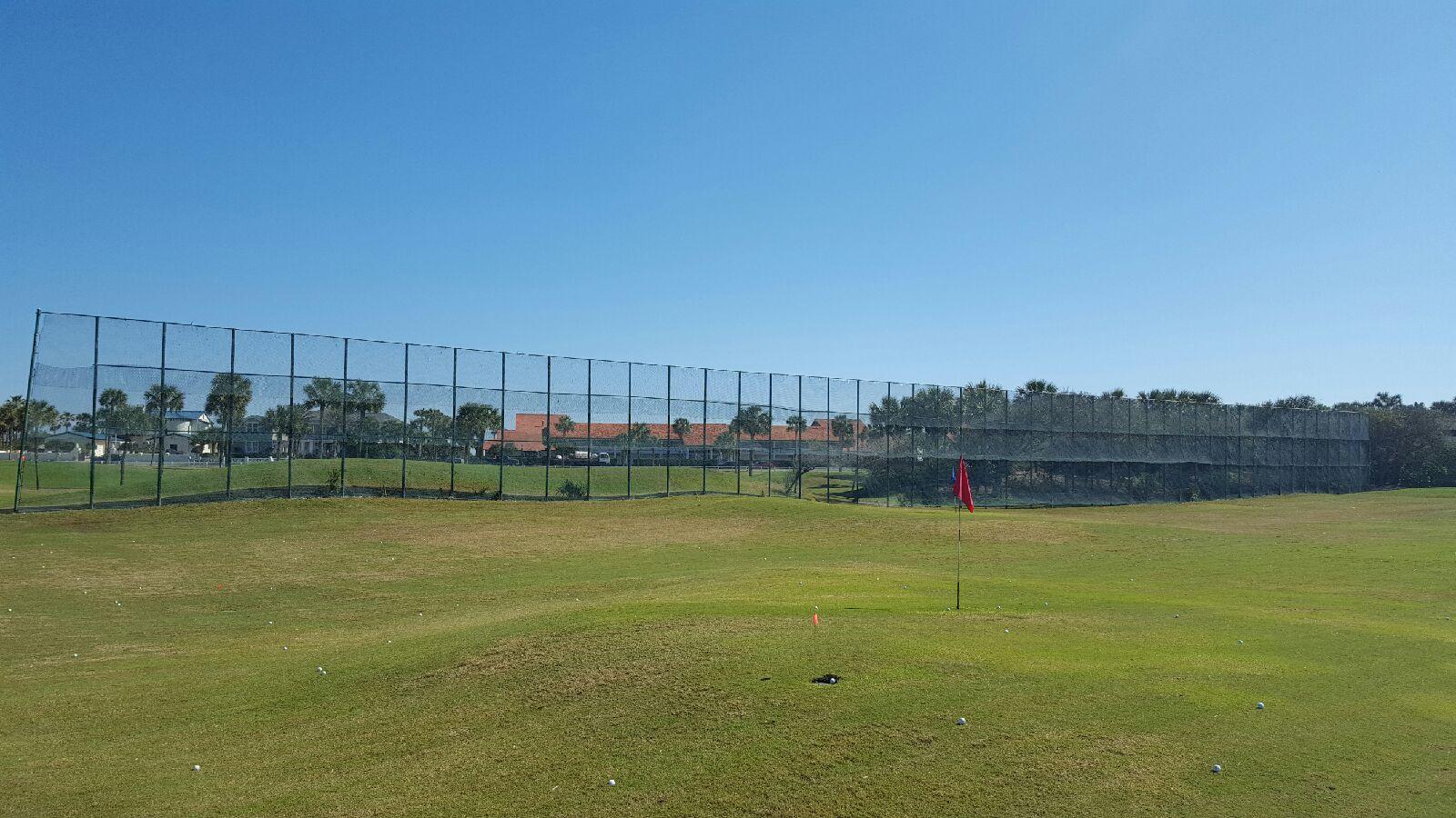 Driving Range Netting Installation Ponte Vedra Inn