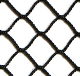 "#18 x 3/4"" Knotless Diamond Mesh Polyester Netting"